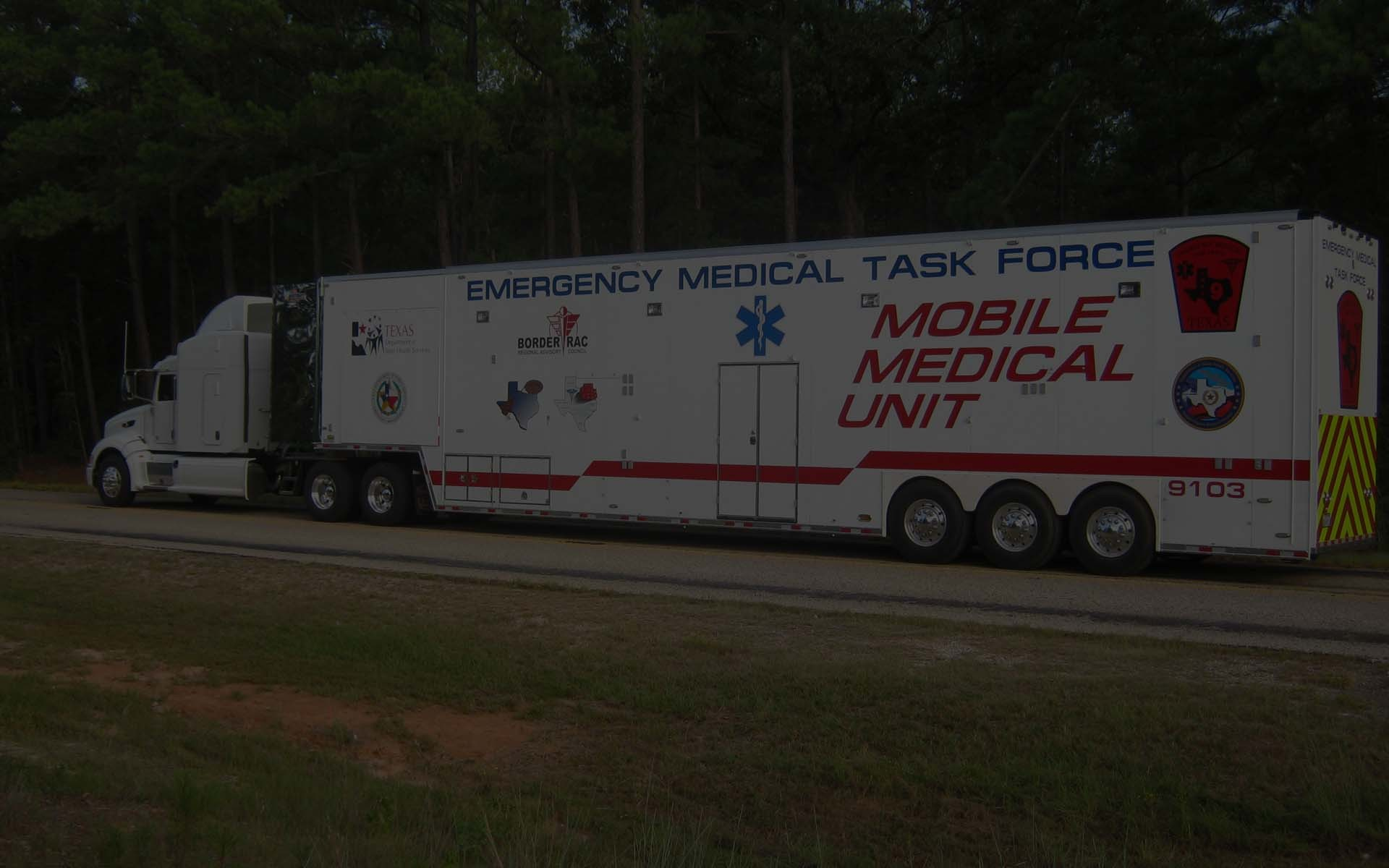 Competition Trailers | Custom Trailers - Disaster Relief, Medical